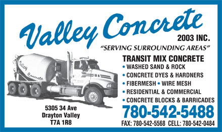 valley concrete